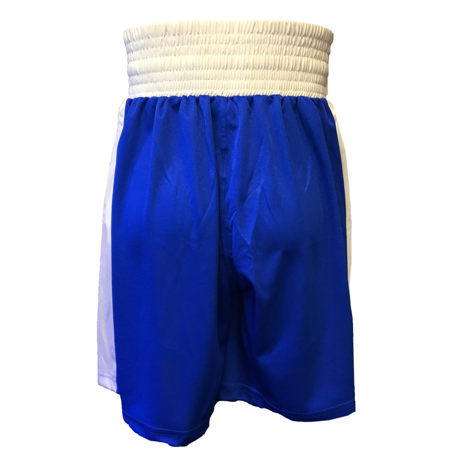 TUF WEAR KIDS JUNIOR CLUB BOXING SHORTS BLUE