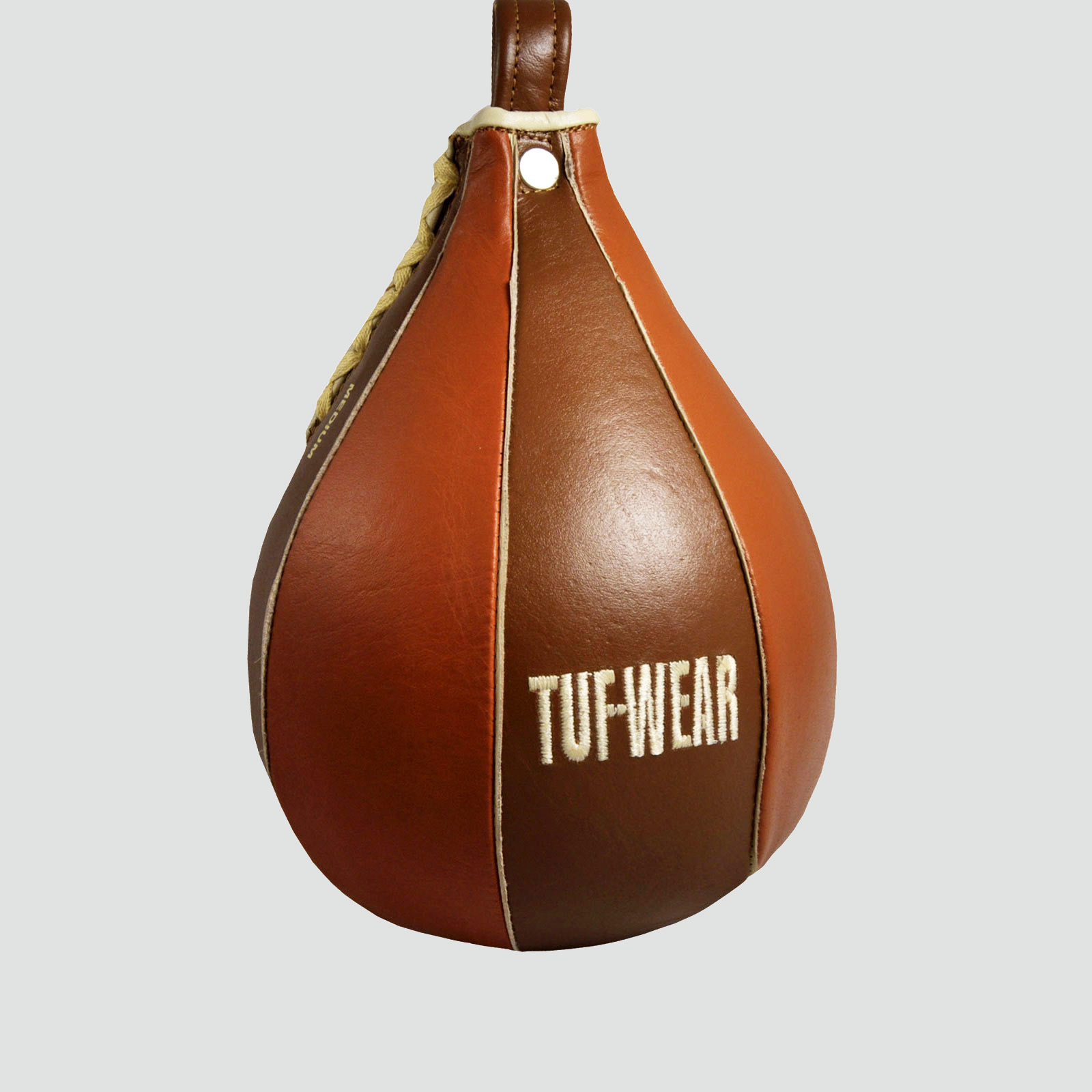 TUF WEAR BOXING CLASSIC BROWN LEATHER SPEED BALL