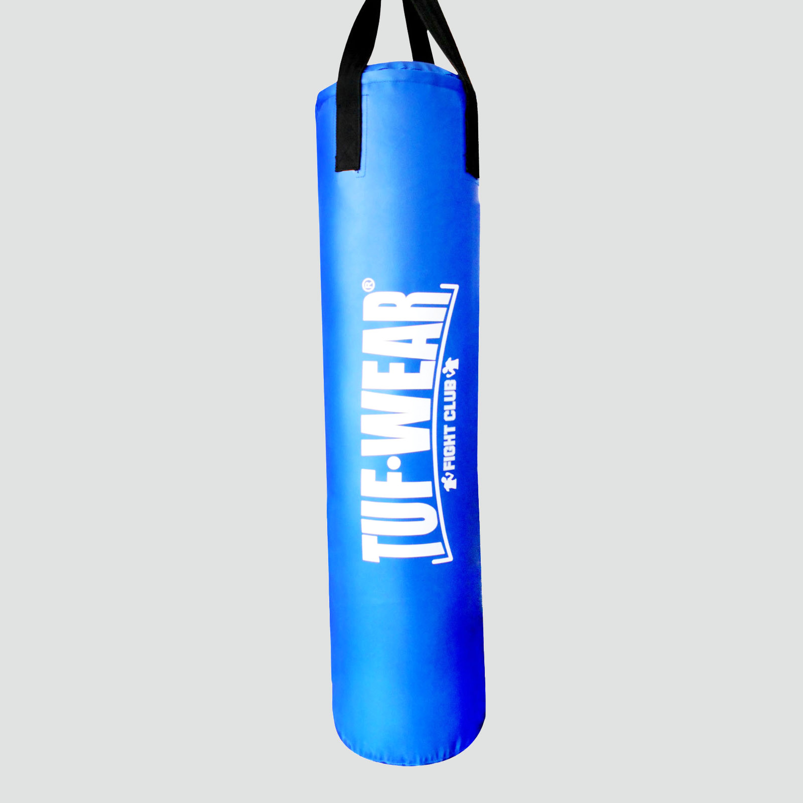 TUF WEAR BOXING CLASSIC BROWN 4FT HIDE LEATHER PUNCH BAG FILLED